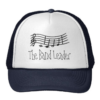 Wavy music scale and notes - The Band Leader hat