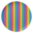 Wavy Rainbow Plate