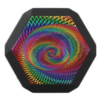 Wavy Rainbow Spiral Boombot Rex Bluetooth Speaker