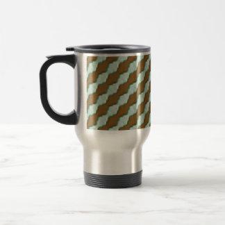 Wavy Ripples - Chocolate Mint Mug