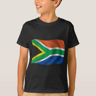 Wavy South Africa Flag T-Shirt