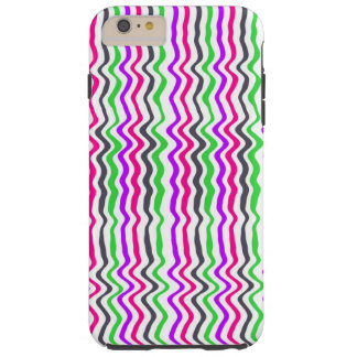 Wavy Stripe 2014 Tough iPhone 6 Plus Case