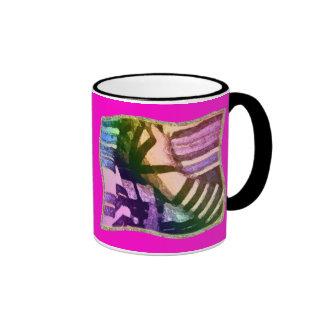 Wavy Tefillin Mugs