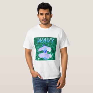 Wavy Vaporwave T Shirt