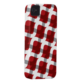 Wavy Zig Zag Abstract Pattern iPhone 4 CaseMate Case-Mate iPhone 4 Cases