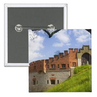 Wawel Castle, Krakow, Poland 15 Cm Square Badge