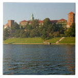 Wawel Hill with Royal Castle and Cathedral, Large Square Tile