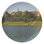 Wawel Hill with Royal Castle and Cathedral, Party Plate