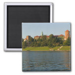 Wawel Hill with Royal Castle and Cathedral, Square Magnet