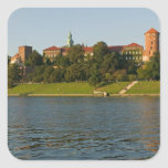 Wawel Hill with Royal Castle and Cathedral, Square Stickers