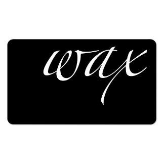 Wax: Brazilian Wax Pack Of Standard Business Cards