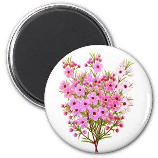 Wax Flower Bouquet Magnet