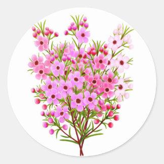 Wax Flower Bouquet Sticker