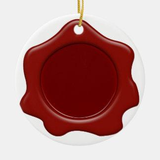 Wax Seal Christmas Tree Ornaments