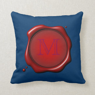 Wax Seal With Monogram Pillow Template