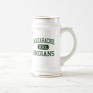 Waxahachie - Indians - High - Waxahachie Texas Beer Stein
