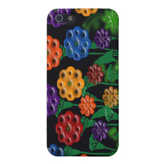 waxed flowers iPhone 5 covers
