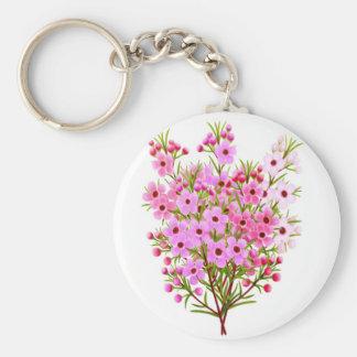 Waxflower Bouquet Keychain