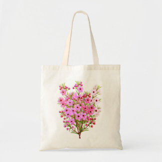 Waxflower Bouquet Tote Bag