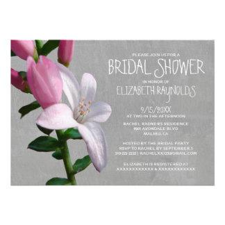 Waxflower Bridal Shower Invitations Custom Invitations