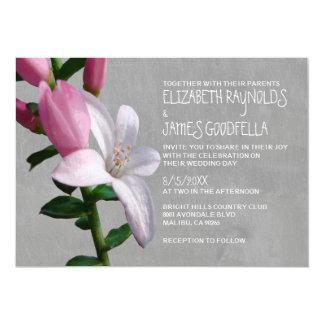 Waxflower Wedding Invitations