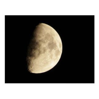 Waxing Gibbous Moon #2 Postcard
