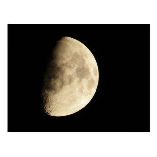 Waxing Gibbous Moon #2 Post Card