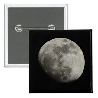 Waxing Gibbous Moon Button