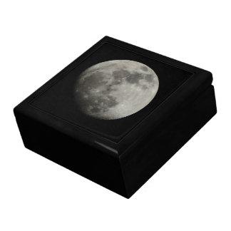 Waxing Gibbous Moon Keepsake Box