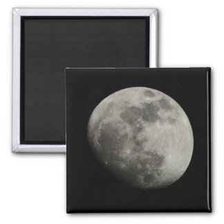 Waxing Gibbous Moon Fridge Magnet