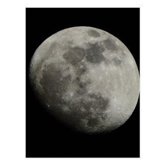 Waxing Gibbous Moon Post Card