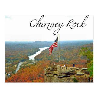 Way Above Chimney Rock Postcard