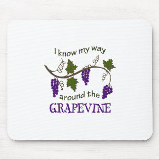 WAY AROUND THE GRAPEVINE MOUSE PAD