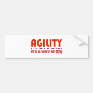 way of life bumper sticker