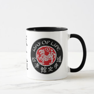 Way Of Life Shotokan Dark Logo Coffee Mug