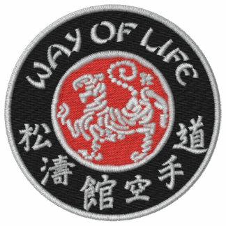 Way Of Life Shotokan Dark Logo Embroidered Hoodie