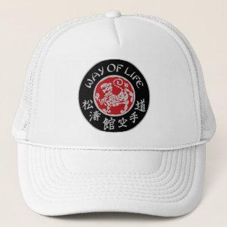 Way Of Life Shotokan Dark Logo Trucker Cap