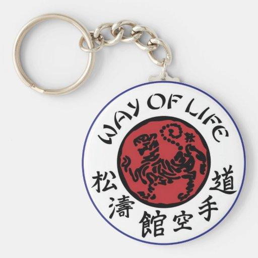 Way Of Life Shotokan Keychain