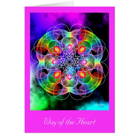 Way of the Heart Card