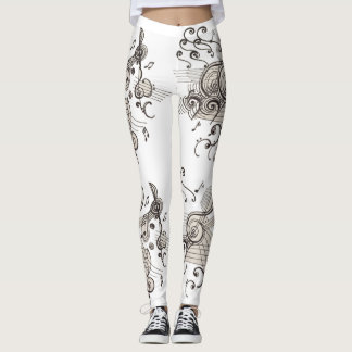 "WAY OUT ""MUSICAL"" Leggings!!! Leggings"