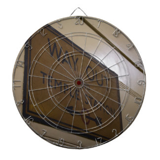 Way Out - Temple Station Dartboard