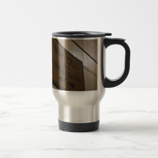 Way Out - Temple Station Stainless Steel Travel Mug