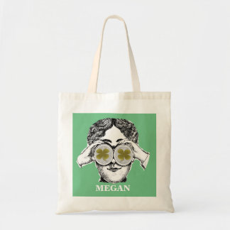 Way She Sees It - Shamrock Budget Tote Bag