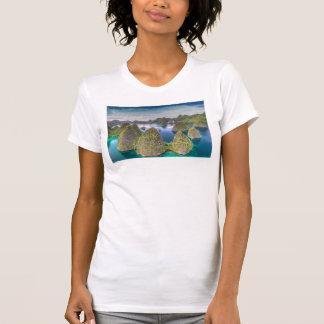 Wayag Island landscape, Indonesia T-Shirt