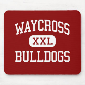 Waycross - Bulldogs - Middle - Waycross Georgia Mouse Pad