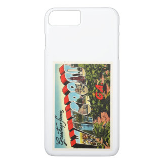 Waycross Georgia GA Old Vintage Travel Souvenir iPhone 7 Plus Case