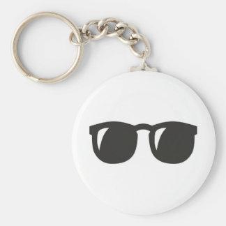 Wayfarer Black Sunglasses Keychain