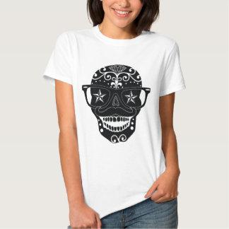 Wayfarer Sugar Skull Design T-shirts