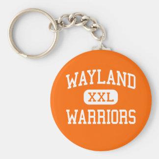 Wayland - Warriors - High - Wayland Massachusetts Key Ring