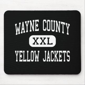 Wayne County - Yellow Jackets - High - Jesup Mouse Pad